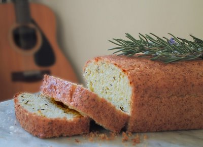 Foodatista: Olive Oil and Fresh Rosemary Cake