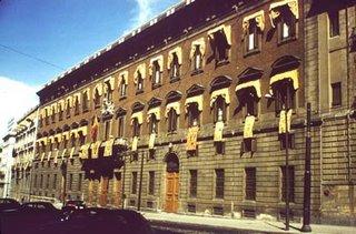 La Real Aduana (fachada de la calle de Alcalá)