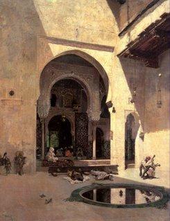 El Tribunal de la Alhambra (Granada), de Mariano Fortuny (1838-1874)