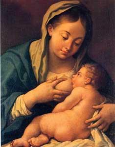 La Virgen de la Buena Leche, de José Camarón (1731-1803)