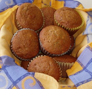 breadbasketcase: Big Banana Muffins