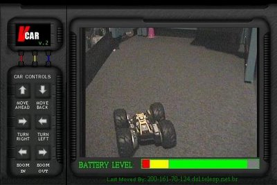 Remote Controlled Car via Internet - Screenshot by Hasan Bazerbashi :)