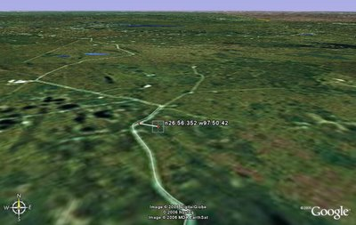 Cheney GPS Google Earth