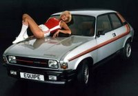 The Austin Allegro Equipe. Mine didn't come with the half-naked floozie option