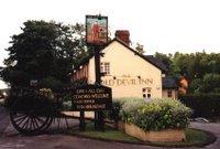 The scene of the crime: The Old Devil Inn in Knowl Hill
