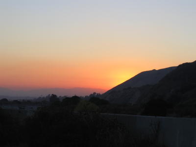 Sunset Tujunga Wash (2Sept)