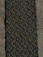 handwoven shadow weave swatch