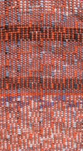handwoven shadow weave in sock yarns