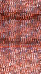 handwoven shadow weave in sock yarns