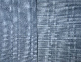 My handwoven log cabin fabrics.