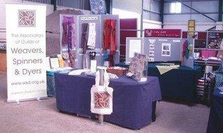 Association stand at Woolfest 2006