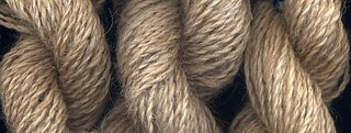 3 sample skeins from the same Karakul fleece.