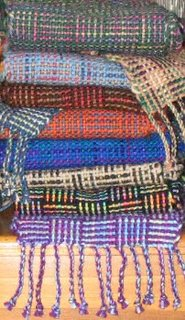 Log Cabin Scarves