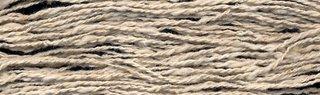 Tussah silk noil yarn.