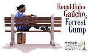 Caricatura Ronaldinho - caricatura Jogadores futebol