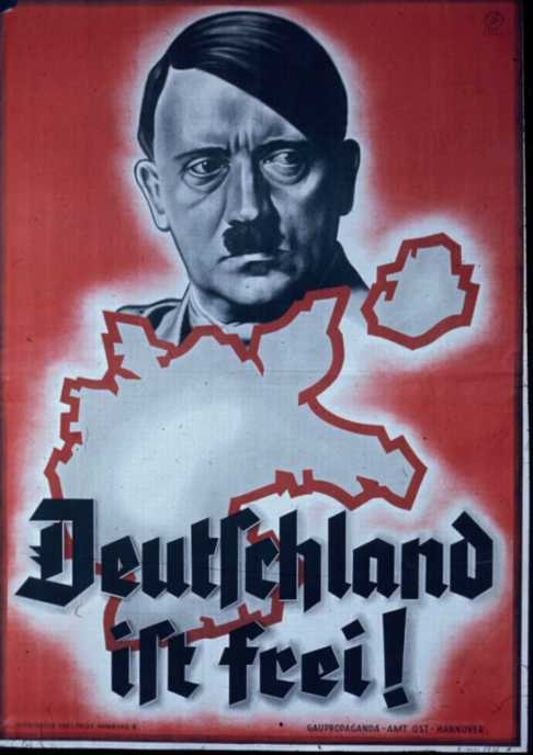 the use of propaganda in nazi germany Erwin leiser's germany awake2—and will use it as a springboard for some  broader thoughts  nazi propaganda film unit, but lang emigrated instead in  1936.