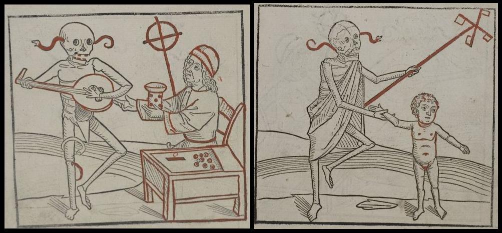 danse macabre drawings