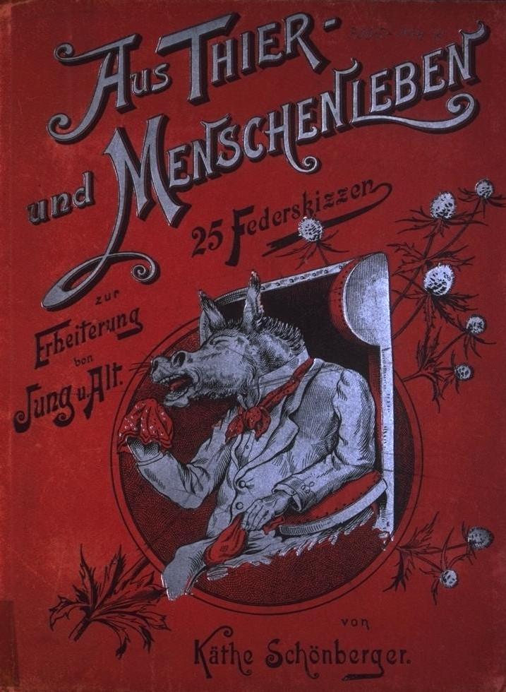 Aus Tier- und Menschenleben (cover)