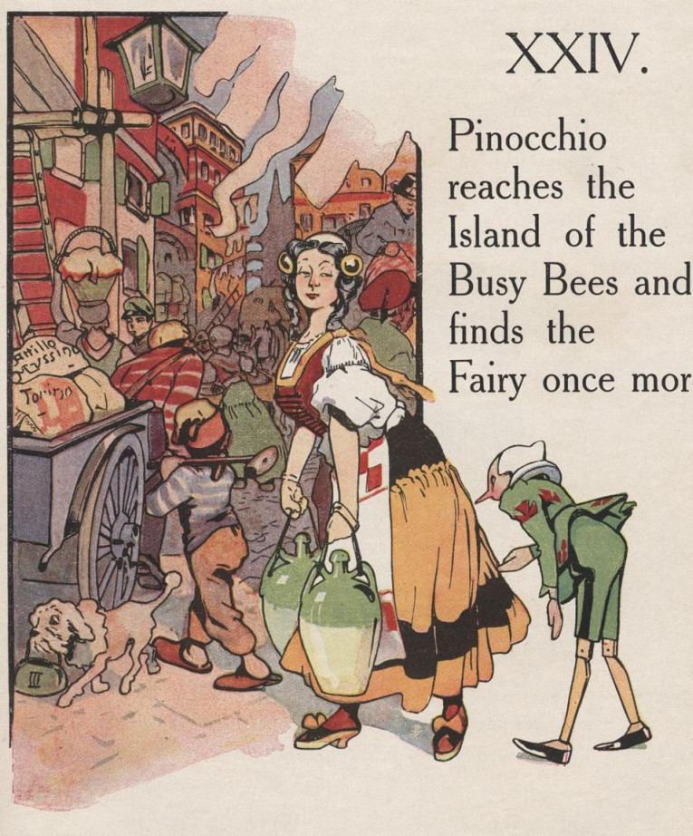 the adventures of pinocchio essay Though one of the best-known books in the world, pinocchio at the same time   that is at once adventure, satire, and a powerful enchantment that anticipates   and collections of essays, including the name of the rose, foucault's pendulum, .