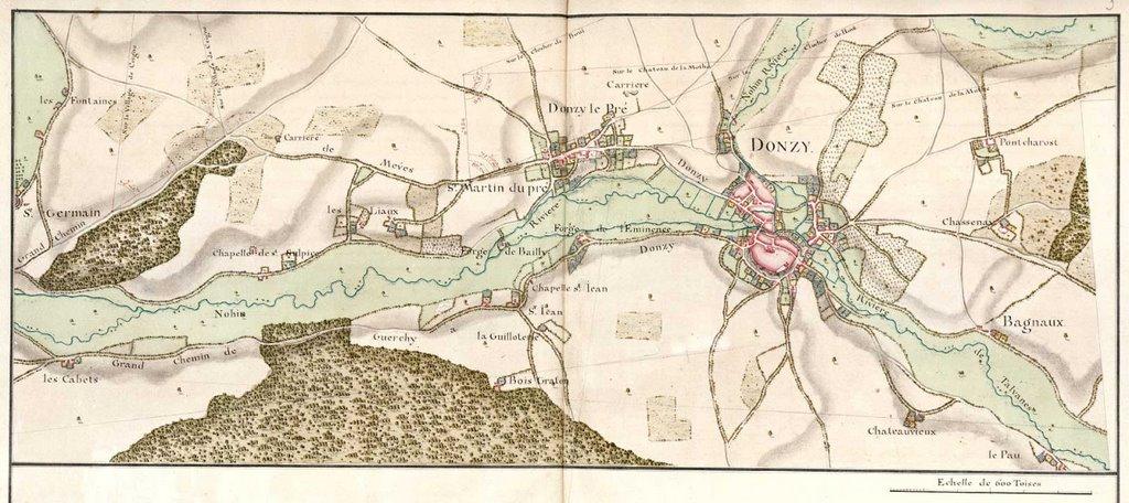 Route de La-Charité à Auxerre