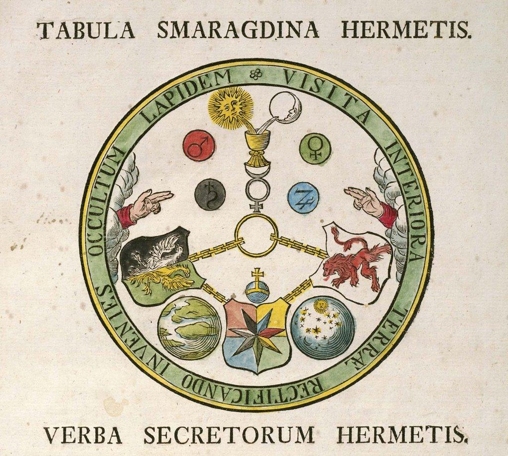 tabula smargadina hermetis