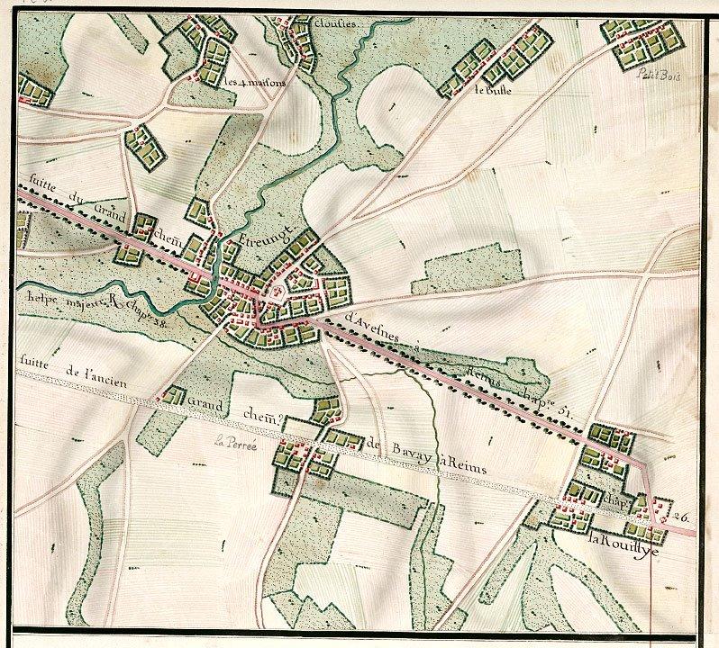 La généralité de Hainaut-Cambrésis