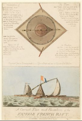 sketch alleged invasion craft 18th century