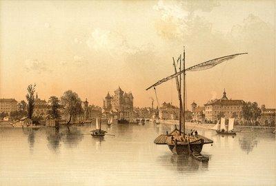 Annecy (Vue prise du Lac)