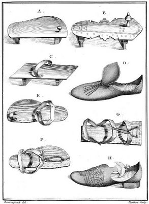 Niebuhr - collection of Arabian shoes