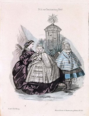 Austrian Theatre Fashion Plate j