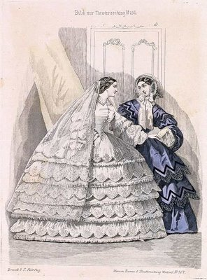 Austrian Theatre Fashion Plate n