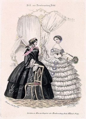 Austrian Theatre Fashion Plate b