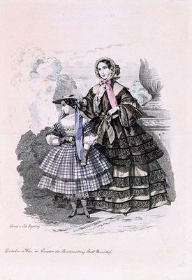 Austrian Theatre Fashion Plate d