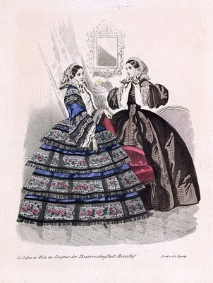 Austrian Theatre Fashion Plate k