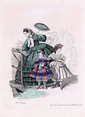 Austrian Theatre Fashion Plate e