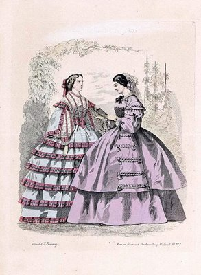 Austrian Theatre Fashion Plate i