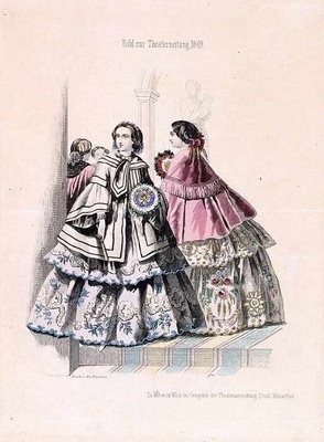Austrian Theatre Fashion Plate m