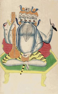 Brahma Enthroned