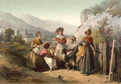 Costume du Bourg-Saint-Maurice et des environs de Thonon