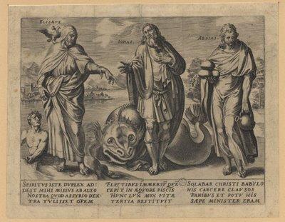 Elisaevs, Ionas, Abdias 1550 engraving