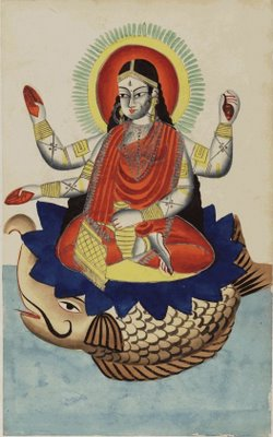 Ganga, Goddess of the River Ganges