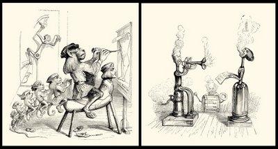 2 grandville drawings