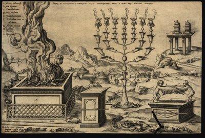 allegorical tabernacle scene