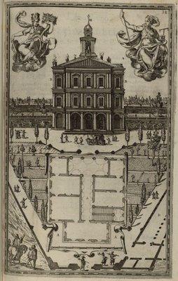 Il palazzo fatto nella vigna di nostro signore mentre era cardinale