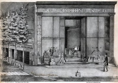 Jenkins & Co. grocery and tea store 1848