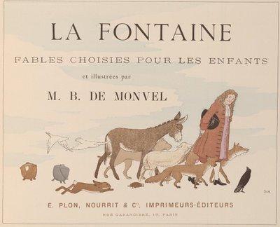 la fontaine title page