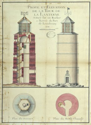 louisbourg lighthouse 1733