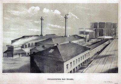 Philadelphia Gas Works 1852