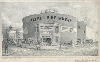 Philadelphia horse & buggy bazaar 1848