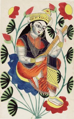 Sarasvati, Goddess of language and literature
